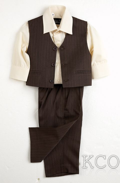 Juventus Brown/Cream~ Boys Suits